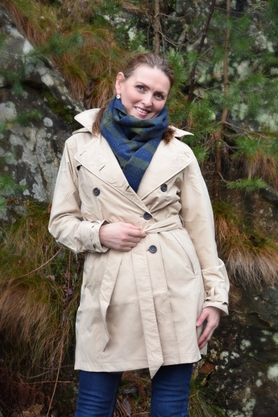 Bilde av HappyRainyDays Dolly trenchcoat Desert